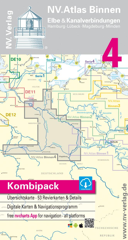 NV Binnen 4 Kombipack Elbe & Kanalverbindungen