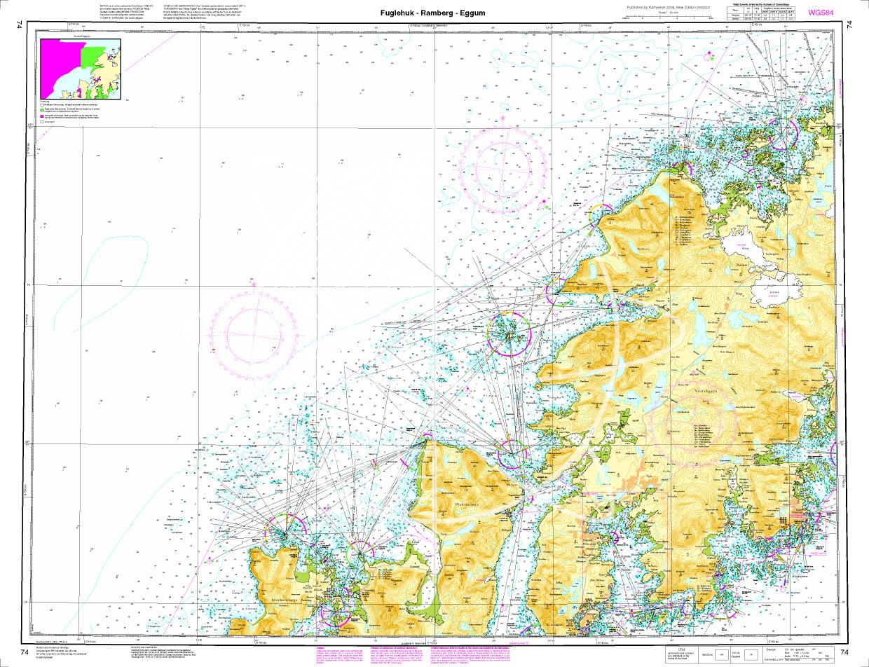 Norwegen N 74 Lofoten Fuglehuk - Ramberg - Eggum