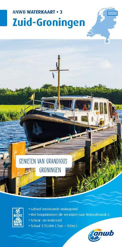ANWB Waterkaart  3 - Zuid Groningen