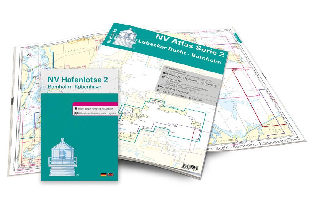 NV Charts Box North Germany to Norwegian border Region 1, 2, 3, 5.1, 5.2
