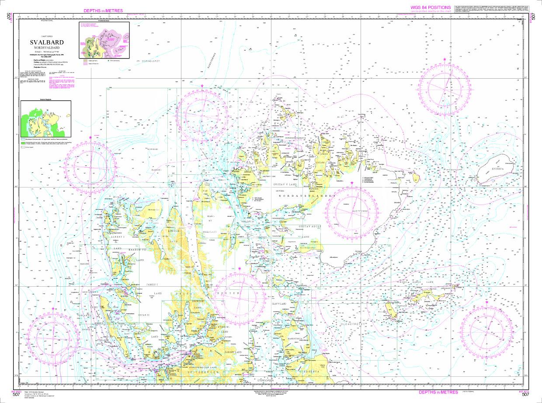 Norwegen N 507 Spitzbergen Nord (Svalbard)