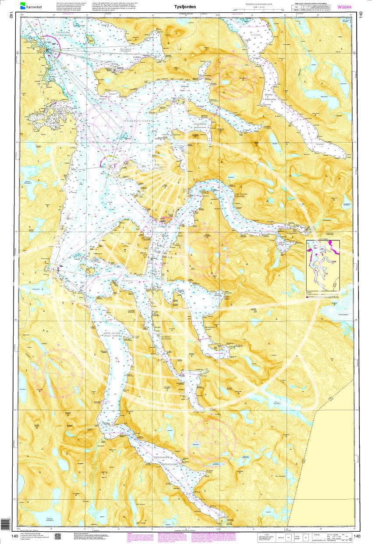 Norwegen N 140 Atlantik Tysfjorden