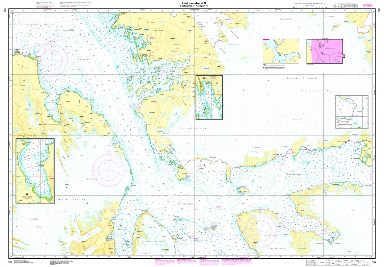 Norwegen N 537 Spitzbergen Hinlopenstretet N., Fosterøyane - Nordporten