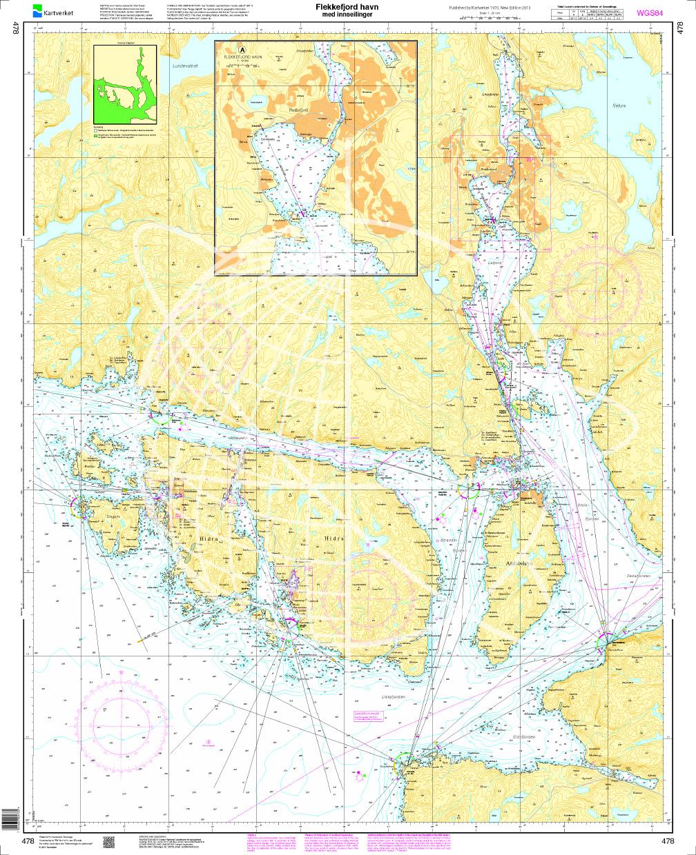 Norwegen N 478 Ansteuerung Flekkefjord