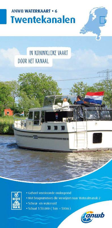 ANWB Waterkaart 6 - Twentekanalen