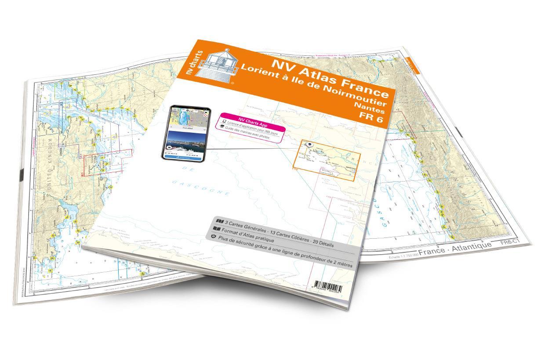 NV Atlas France - FR6 - Lorient à Île de Noirmoutier - Nantes