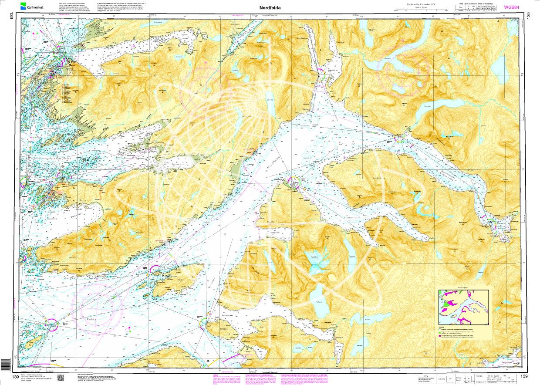 Norwegen N 139 Nordfolla