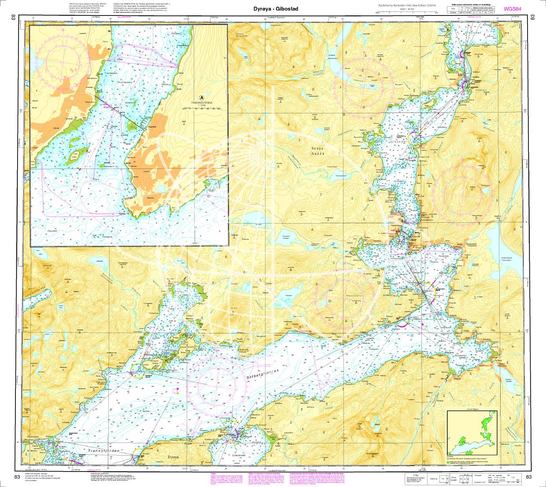 Norwegen N 83 Atlantik von Dyrøya bis Gibostad