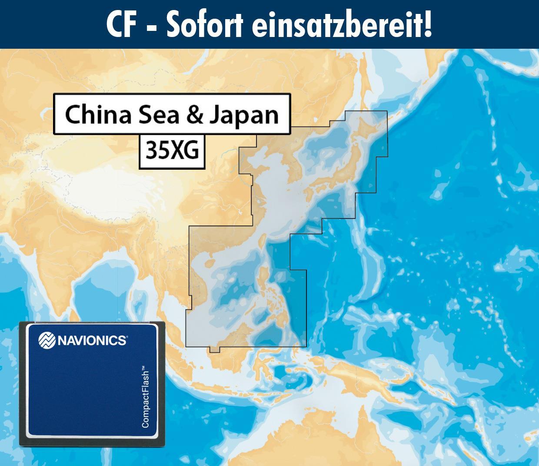 Navionics+ preloaded 35XG CF CHINA SEA