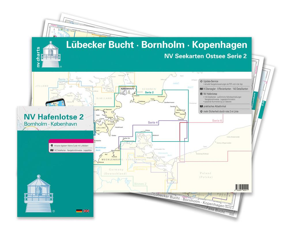 NV Atlas Region 2  Lübeck - Bornholm - Copenhagen Single Charts