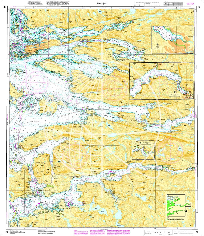 Norwegen N 27 Westküste Atlantik Sunnfjord