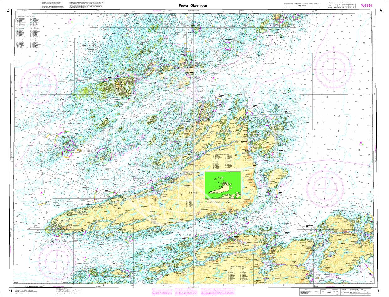 Norwegen N 42 Atlantik von Gjæsingen bis Halten