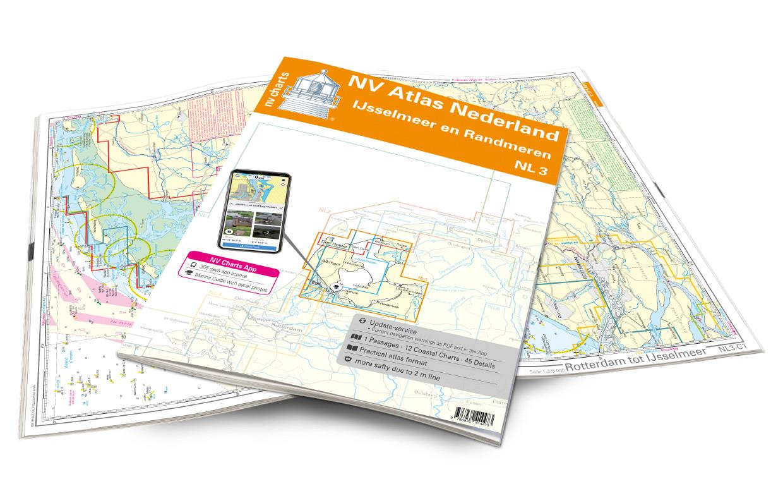 NV Atlas Nederland NL3 - IJsselmeer & Randmeeren