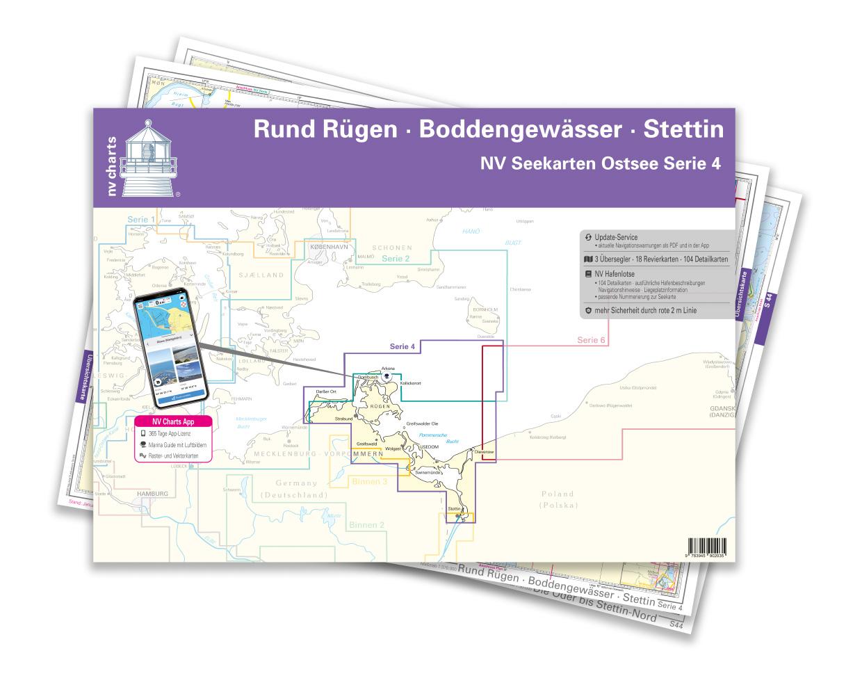 NV Region 4 East Germany  Rügen to Szczecin Single-Charts
