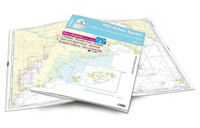 NV Atlas Spain ES1 Cabo San Antonio to Cabo Creus